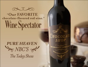 chocolate shop wine