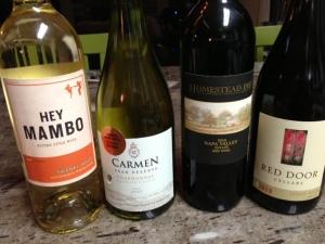 four wines