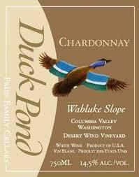 Duck pond chardonnay