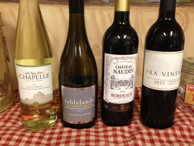 New Years Resolutions Front Porch Wine Tasting