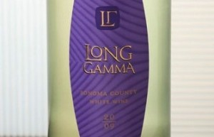 long gamma white wine