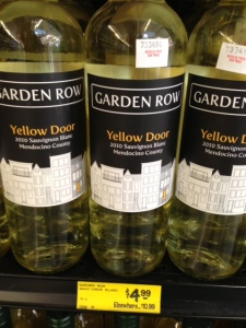 Yellow Door sauvignon blanc