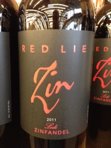 Red lie zin