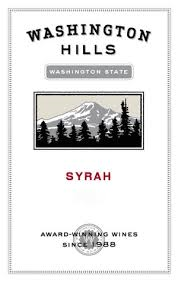 washington hills syrah