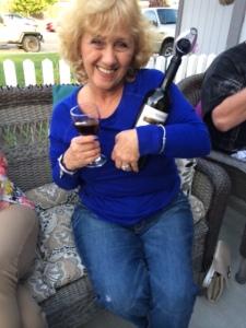 Wine tasting is over
