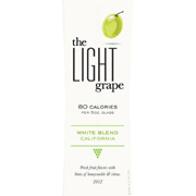 light grape white blend