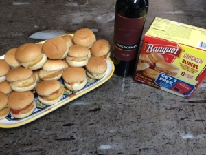 sliders and malbec