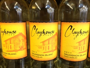 4 clayhouse sauv blanc