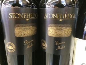 4 stonehedge merlot