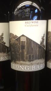 long barn red wine