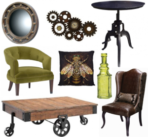 Steam punk decor