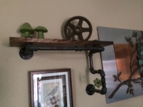 steam punk shelf
