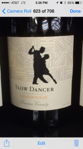 Slow dancer chardonnay