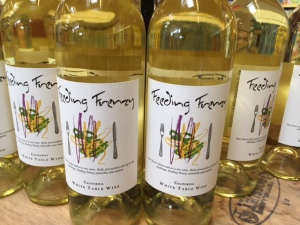 feeding frenzy white blend
