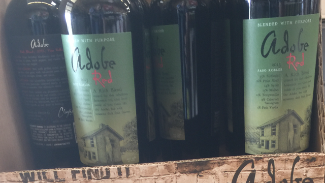 2013 Adobe Red Blend from Paso Robles & Front Porch Wine Tasting | Just enjoying wine with friends on the ...